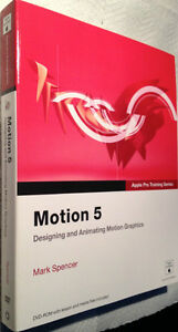 Apple Pro Training Series: Motion 5 by Mark Spencer Paperback