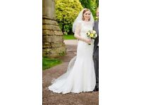 Beautiful Vintage Style Sincerity Wedding Dress