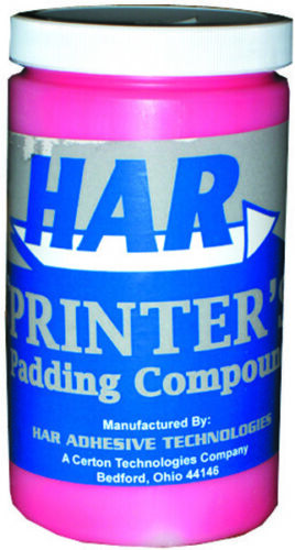 HAR Padding Compound Red for Making Notebooks - Quart   8110