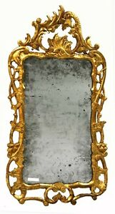 18th-Century-French-Baroque-Carved-Gilt-Mirror