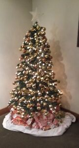 Christmas tree / decorations full package