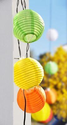 Solar China Lámparas Guirnalda de Luces Lampion Linterna Leuchtkette Luz