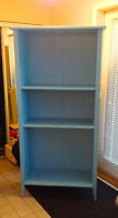 5 shelf wooden bookcase