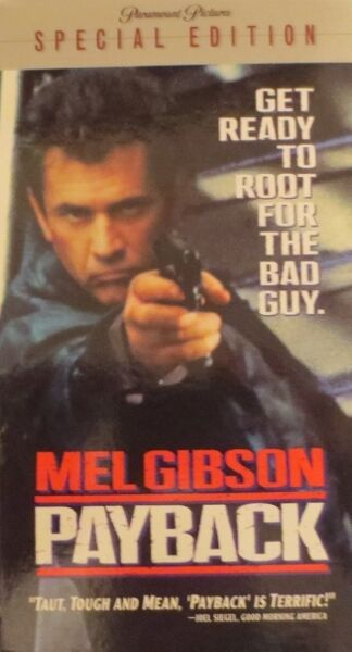 Payback (VHS, 2000, Special Edition)