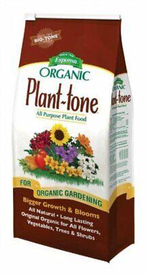 Espoma Organic Plant-tone All Natural, All-Purpose Organic Fertilizer- 18 LB Bag
