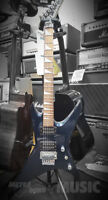Jackson Star Metallic Blue Electric Guitar