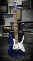 Ibanez RG550XH Blue Sparkle 30-fret Electric Guitar