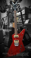 Dean Explorer Style Red Electric Guitar