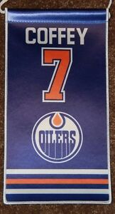 BUYING a Paul Coffey Edmonton Oilers Mini Retirement Banner Edmonton Edmonton Area image 1