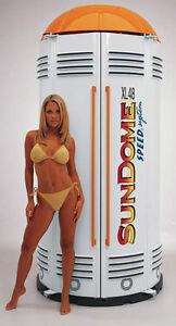 WOLFF SUNDOME XL 48 STAND UP TANNING BOOTH