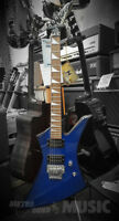 Jackson Explorer Metallic Blue Electric Guitar