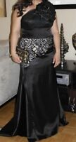 Black Formal Gown- price reduced