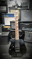 Ibanez RG370DXL Left-Handed Electric Guitar in Black