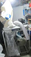 DELTA 50-760 1.5HP 1,200 CFM Vertical Bag Dust Collector