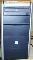 Basic Asus Intel 2.5GHz Dual Core Windows 7 Tower