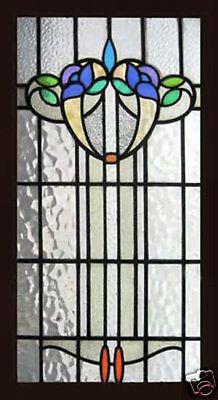 Antique Stained Glass Window Victorian SPRING GLORY U.K.
