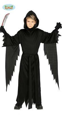 Costume mostro SCARY HALLOWEEN vestito BAMBINO abito anni ZUCCA