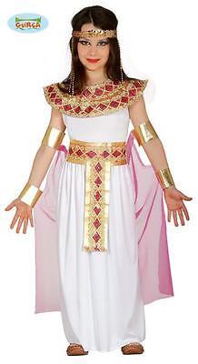 COSTUME TRAVESTIMENTO VESTITO CARNEVALE REGINA CLEOPATRA NEFERTARI BIMBA (Nefertari Kostüme)