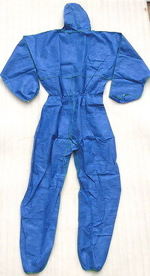 Nos Covertex Disposable Overall Personal Protection Chemical Spill Safety Suit