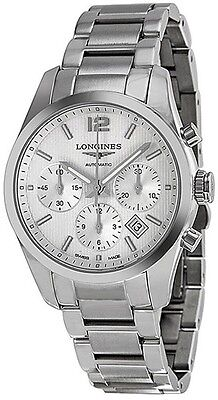Brand New Longines Conquest Classic Silver Dial Men's Watch L27864766 on Sale