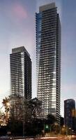 U Condo New Luxury 1+1 bdrm higher floor S view Bay & Bloor