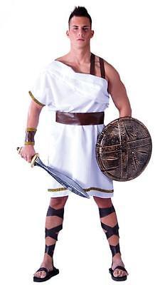 COSTUME TRAVESTIMENTO VESTITO CARNEVALE UOMO SOLDATO GRECO ANTICA GRECIA SPARTA (Sparta Costumes)