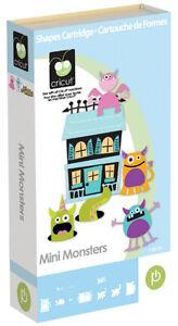 NEW: Cricut Mini Monsters Cartridge - $45