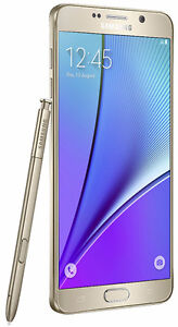 Brand New Unlocked Samsung Galaxy Note 5 LTE Gold, silver, white