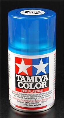 Tamiya 85072 Spray Lacquer TS-72 Clear Blue 100ml Spray Can