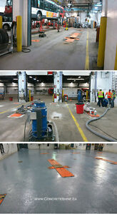 Concrete Shot Blasting, Traffic Deck Topping, Epoxy Coating Cornwall Ontario image 7