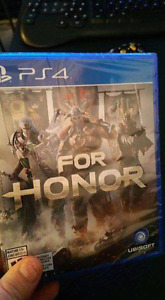 Ps4 For Honor (encore emballer )