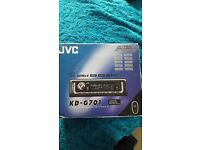 Jvc brand new cd player still in box....never used