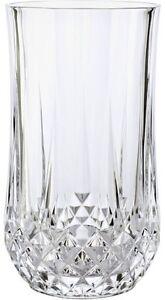 Cristal d 39 arques longchamp 6 grandes hiball vasos bnib ebay - Vasos grandes cristal ...