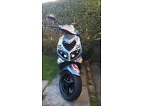 Peugeot speedfight 100cc 2007 reg as 50cc 2003 scooter moped wrc (not gilera runner pit bike 125cc)