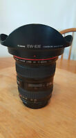 17-40mm f/4.0 wide angle red ring lens.