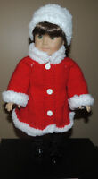 """Doll Clothes for American Girl or any 18"""" Doll"""