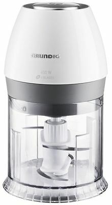 Grundig CH 6280 W Zerkleinerer 450 Watt  500 ml  Weiß/Edelstahl