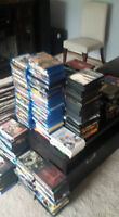 DVDS, BLU RAYS, VIDEO GAMES AND MORE