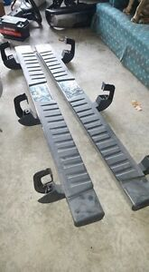 New take off running boards 2016 Chevy crew cab Cambridge Kitchener Area image 1