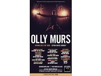 Olly Murs tickets x 3 - Friday 31st Mar 02 Arena