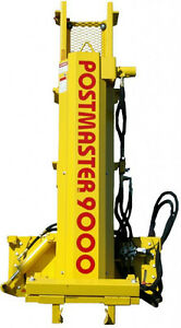 New Postamster post pounder bobcat / skid steer attachment
