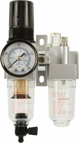 "WorkSmart Miniature Filter/Regulator & Lubricator 1/8"" WS-PN-2FRL-001"