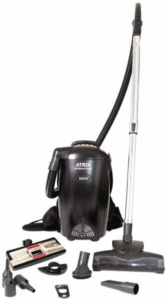Atrix Backpack Vacuum Cleaner 12 Amps, 10 Lb, Accessories Included