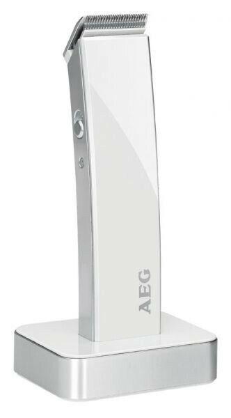 Haarschneider Haarschneidemaschine Bartschneider AEG HSMR 5638 weiss