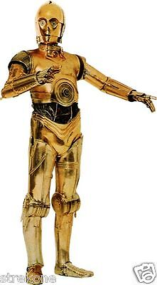 C3PO Protocol Droid STAR WARS Saga Robot - Colorful Window Cling Decal Sticker for sale  Southington