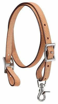 Light Oil Leather Tie Down Strap Barrel Racing Tiedown