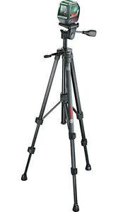 Bosch 0603663401 Kreuzlinien-Laser PLL 2 (Set) mit Stativ