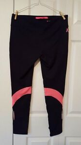Women's Under Armour Run Fly By Pant, Large, Black/Hot Pink