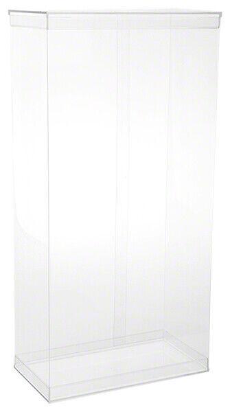 "DollSafe Deluxe Folding Case w/ Acrylic Lids for 17-18"" Dolls, 9.5"" x 5"" x 19"""
