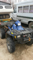 polaris 500 ho 1800 km GENUIDE USEparts starter $80  engine $800